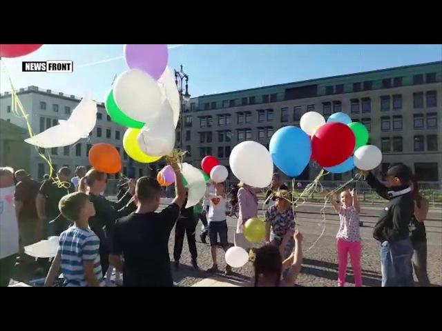 «С ангелом в сердце» - акция в Берлине, рисунки с которой отправят детям Донбасса