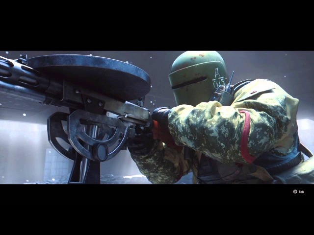 Rainbow Six Siege Tachanka Operator Video