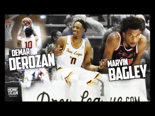 Demar Derozan vs. Marvin Bagley at the Drew League