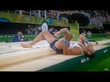 Французский гимнаст Самир Аит Саид получил жуткий перелом. Рио Олимпиада.