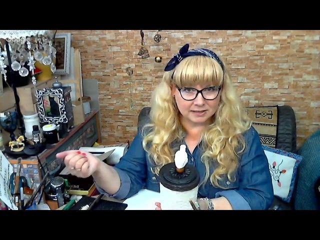 Наташа Фохтина. Пластиковая емкость, как объект декорирования. 04.07.17