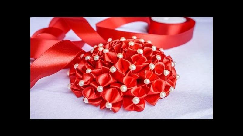 DIY Ribbon Flower | Weddings Flower Decorations | HandiWorks 87