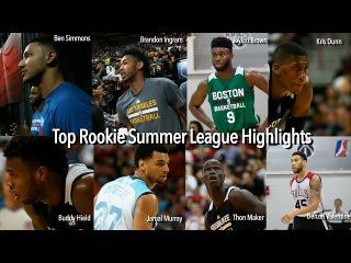 Top Rookie Summer League Highlight Compilation (Ben Simmons, Brandon Ingram, Kris Dunn)