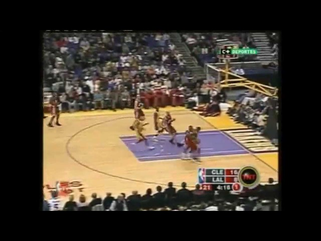 LeBron James vs Kobe Bryant First game Full Highlights (2004.01.12) Cavaliers vs Lakers
