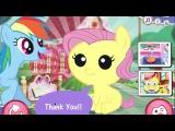 Little Pony Baby Fluttershy Care - Пони Флатершай Уход