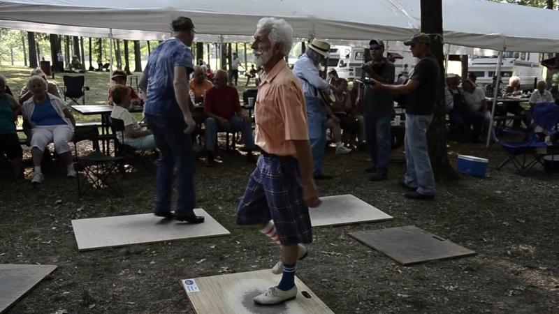 Buck Dancing at Summertown Bluegrass Festival