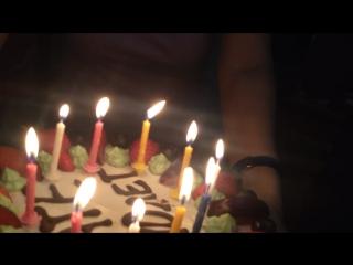 Второй день рождения с друзьями!😜😜
