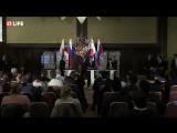 Пресс-конференция министров иностранных дел и глав оборонных ведомств России и Японии по итогам встречи в Токио