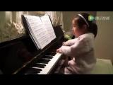гениальный  4-хлетний   ребенок   с Китая за год  выучился  так  играть!!!