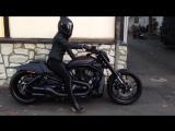 Harley Davidson Night Rod Special 280 Black69 Смотрим и наслаждаемся звуком движка