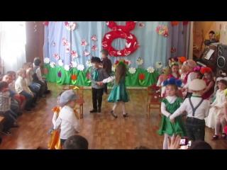 утренник в садике к 8 Марта /ДНЗ « Сонечко » с. Михайловка