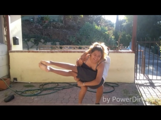 Wwe sleeper hold ko challenge and piggyback challenge
