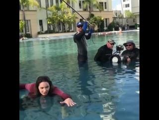 «Mannequin Challenge» на съёмках «Скорпиона»   5 декабря 2016
