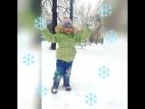 My Kira happy ?? winter ❄❄❄