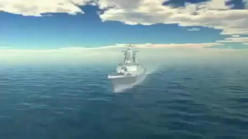 Многоцелевой сторожевой корабль корвет типа Стерегущий