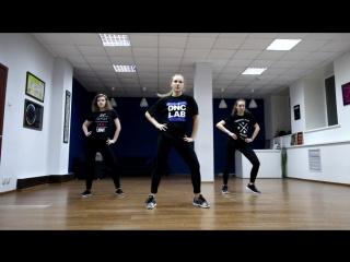 Rihanna - Cockiness (Dan Farber Remix) JAZZ-FUNK CHOREO by Evgenia Panda (ladies in black)