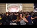 Видео давки после просмотра матча Лиги чемпионов в Турине