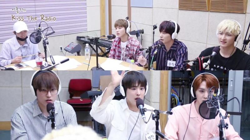 Бёнчан и Сыншик на KBS Radio