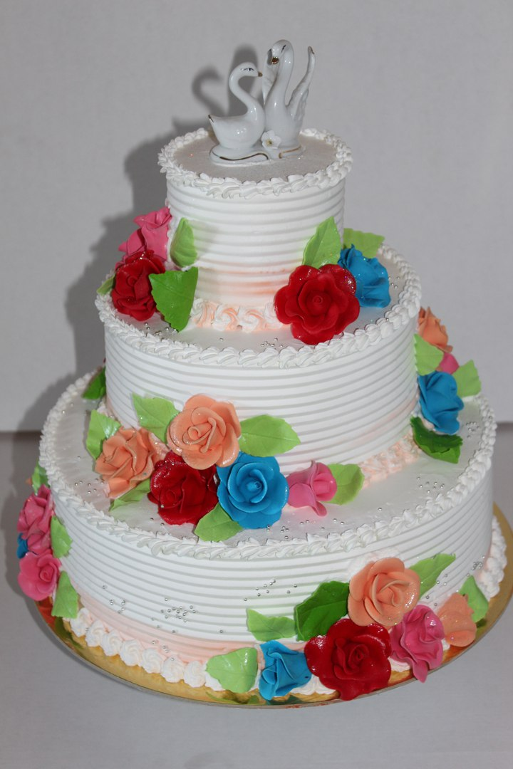 "Свадебный торт ""Лебеди"" (арт. 36)"