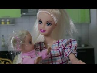 Видео Барби беременная Барби онлайн Мультики для девочек КАРАМЕЛЬКА