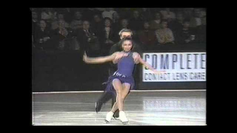Usova Zhulin (RUS) - 1994 World Professionals, Ice Dancing Technical Program