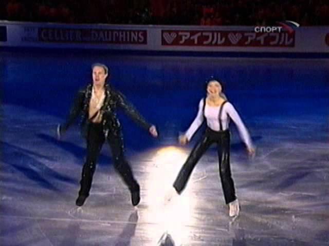 Tatiana Navka Roman Kostomarov Michael Jackson Exhibitions 2005 Worlds