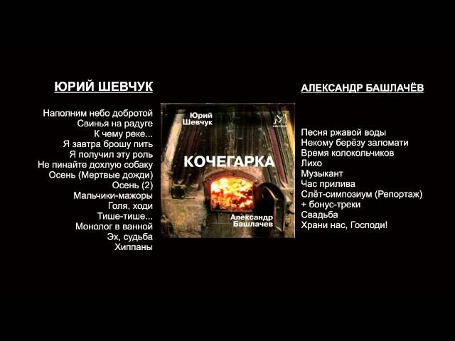Шевчук и Башлачев: Кочегарка
