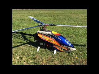 Alan Szabo Jr. ALIGN Trex 700E 3 Blade Flight 10/7/16