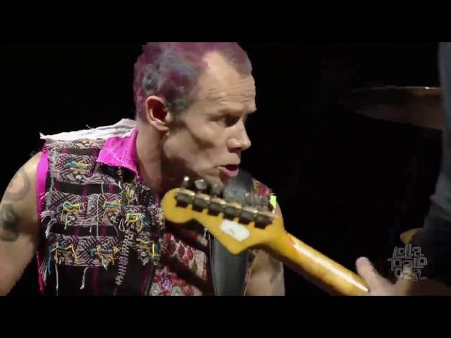 Red Hot Chili Peppers - Intro Can't Stop - Lollapalooza Chicago 2016 HD