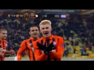 Эффектный гол Виктора Коваленко в матче Шахтер - Гент