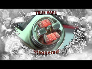 Staple Staggered Fused Clapton | Намотка, тест и отзыв | from coil-master.net