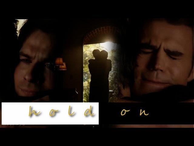 Damon Stefan Salvatore ; Hold on, I still need you (8x16)