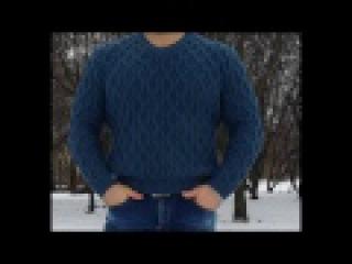 Мастер класс. Расчеты на мужской пуловер. 1 часть.