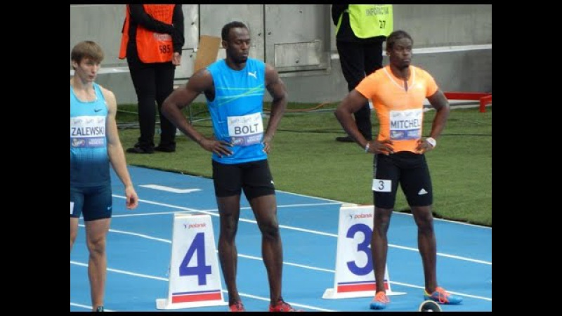 Usain Bolt sets new 100m Indoor World Record in Warsaw 9.98 seconds