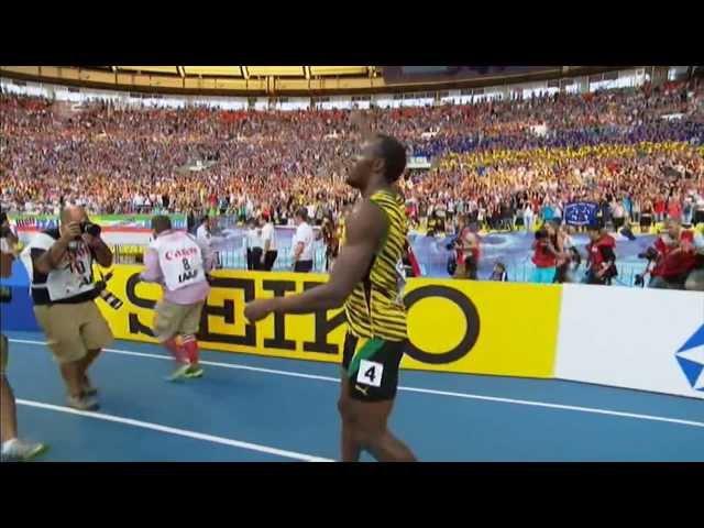 Usain Bolt 19.66 sec IAAF WC 2013 Moscow 200m final