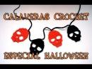 ESPECIAL HALLOWEEN 1 CALAVERAS DE CROCHET PARA DECORAR
