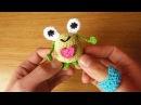 Sapo/Rana a crochet (SAPITO MARGARITO)