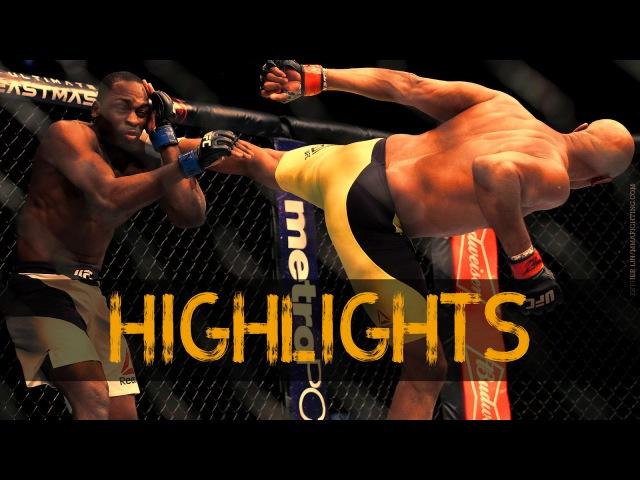 Anderson silva vs. derek brunson Fight Highlights | Андерсон Силва vs Дерека Брансона Лучшие моменты anderson silva vs. derek br