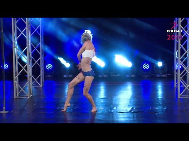 HANNA FOMENKO Pole Art Cyprus 2016 (Boy Epic - Scars) Pole Dance