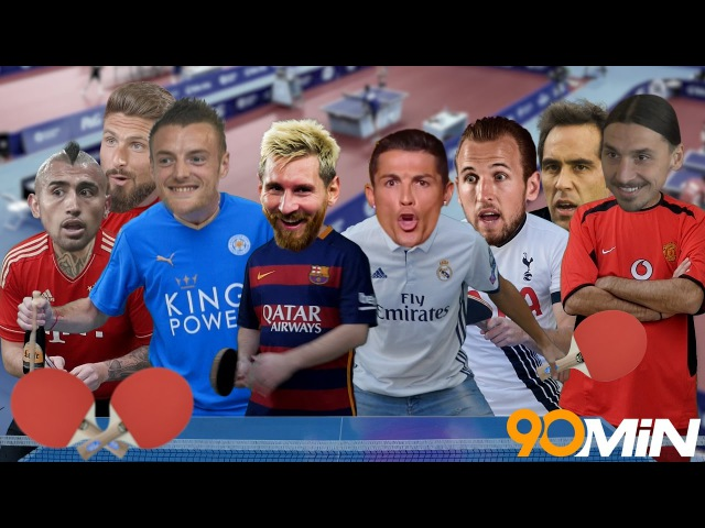 Have you ever wondered how the biggest stars in football play Ping Pong Well here you go