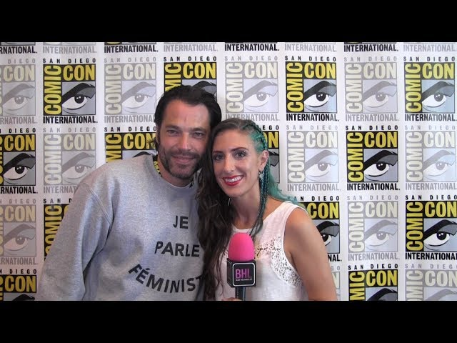Tim Rozon (Wynonna Earp) at San Diego Comic-Con 2017