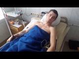 Немного позитива от нашего Героя! Одесса, военный госпиталь февраль 2017 г.