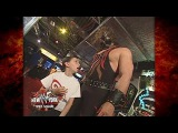 Kane Helps a Kid Win a Prize at WWF New York 61801