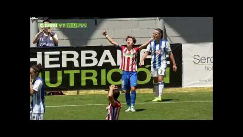 RESUMEN J30   Atlético de Madrid (2-1) Real Sociedad