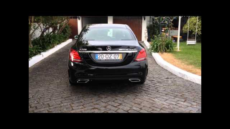 New 2014 Mercedes Benz C220 CDI AMG 7G TRONIC