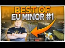 Flusha Sick CLUTCH - Best of EU MINOR 1 CSGO