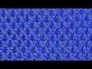 Рельефный объемный узор Вязание спицами Видеоуроки
