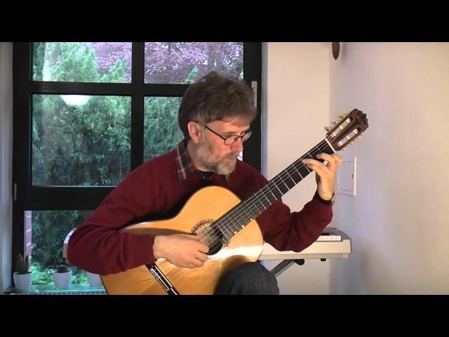Michael Horand spielt die Fantasie in d-moll von S. L. Weiss