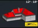 Монтаж гибкой черепицы от компании РСК 24