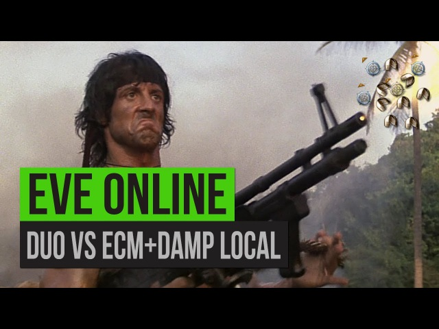 EVE Online | DUO vs ECMDAMP LOCAL или маулюс гори в аду!